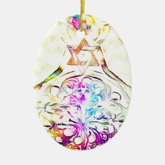 The High Priestess Ceramic Ornament