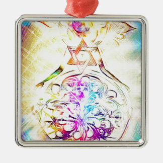 The High Priestess Metal Ornament