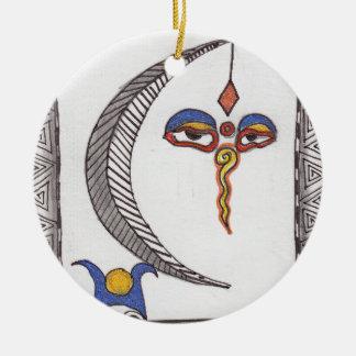 the high priestess christmas ornament