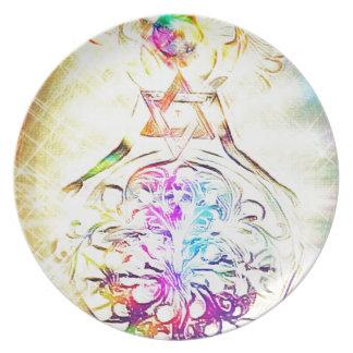 The High Priestess Plate