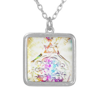 The High Priestess Silver Plated Necklace