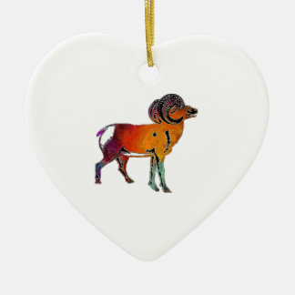 THE HIGHLAND WAY CERAMIC HEART ORNAMENT
