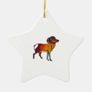 THE HIGHLAND WAY CERAMIC STAR ORNAMENT