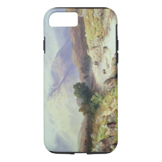 The Highlands, near Argyle (w/c on paper) iPhone 7 Case