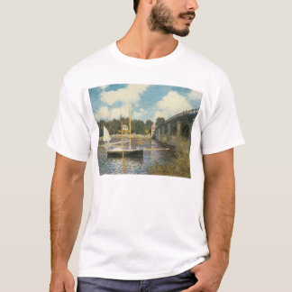 The Highway Bridge at Argenteuil by Claude Monet T-Shirt