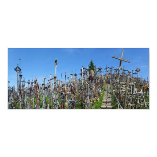 The Hill of Crosses of Northern Lithuania Card