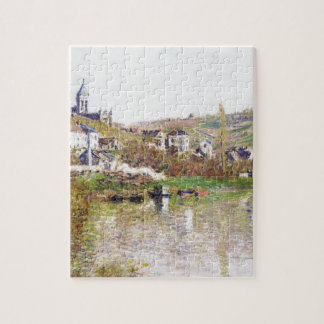 The Hills of Vetheuil by Claude Monet Jigsaw Puzzle