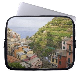 the hillside village of Manarola-Cinque Terre, Computer Sleeve