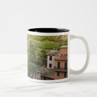 the hillside village of Manarola-Cinque Terre, Coffee Mug