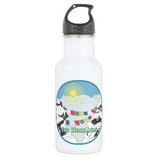 The Himalayas 532 Ml Water Bottle