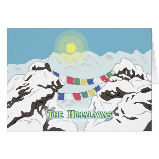 The Himalayas Card