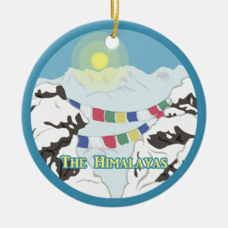 The Himalayas Ceramic Ornament