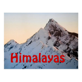 The Himalayas Everest postcard