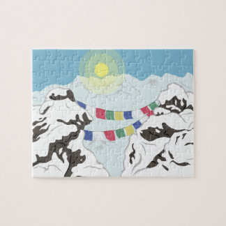 The Himalayas Jigsaw Puzzle