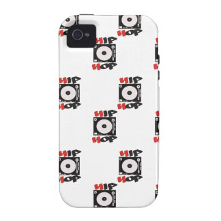The HIP HOP Company Logo Pattern Case-Mate iPhone 4 Case