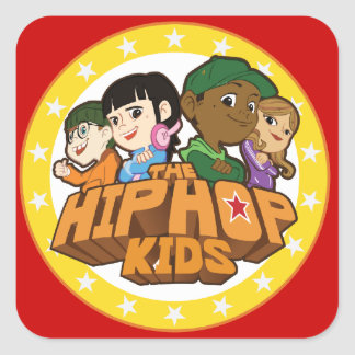 The Hip Hop Kids Logo Stickers