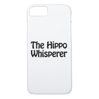 the hippo whisperer iPhone 7 case
