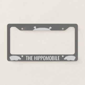 The Hippomobile - Custom License Plate Frame