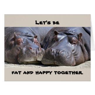 The Hippos Card