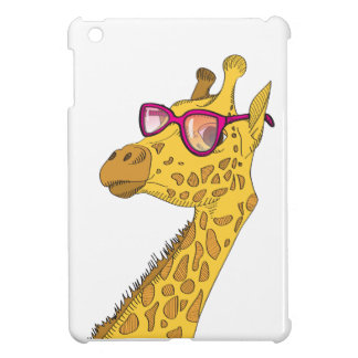 The Hipster Giraffe Cover For The iPad Mini