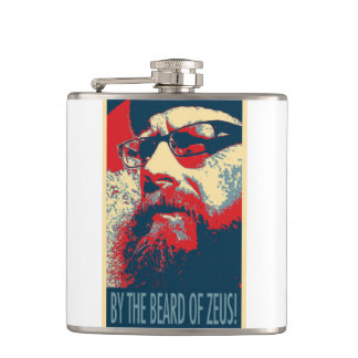 The Hipster Hip Flask