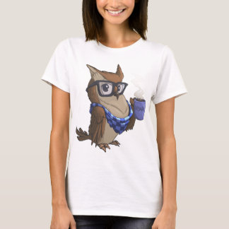 The Hipster Owl T-Shirt