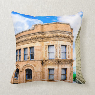 The Historic Equitable Building - Atlanta Throw Pillow