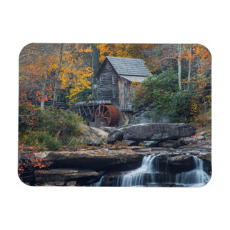 The Historic Grist Mill On Glade Creek Magnet