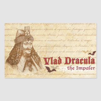 The historical Count Dracula Sticker