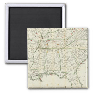 The Historical War Map Fridge Magnets