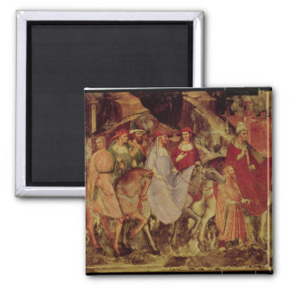 The History of Pope Alexander III Square Magnet