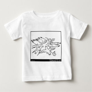 The History of the Seven Young Parrots Baby T-Shirt