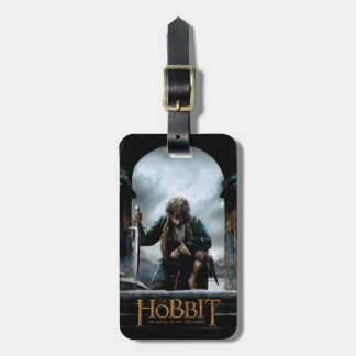 The Hobbit - BILBO BAGGINS™ Movie Poster Luggage Tag