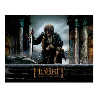 The Hobbit - BILBO BAGGINS™ Movie Poster Postcard