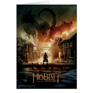 The Hobbit - Laketown Movie Poster Card