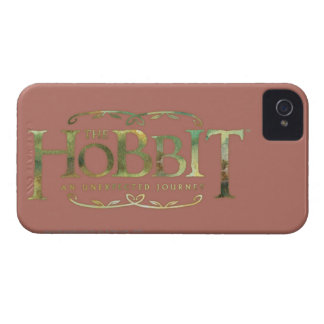 The Hobbit Logo Green iPhone 4 Cover