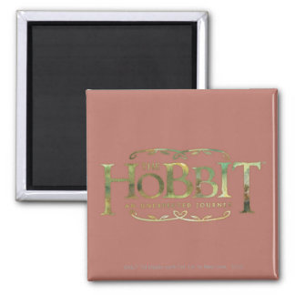The Hobbit Logo Green Refrigerator Magnet