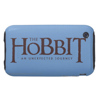 The Hobbit Logo Solid iPhone 3 Tough Covers