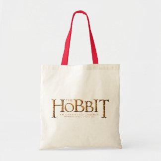 The Hobbit Logo Textured Tote Bag