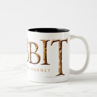 The Hobbit Logo Textured Two-Tone Coffee Mug