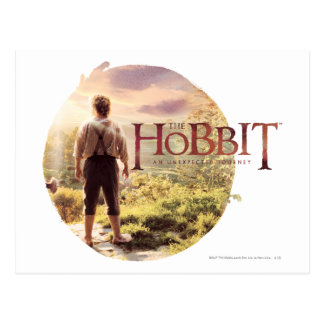 The Hobbit Logo with BAGGINS™ Back Postcard