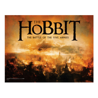 The Hobbit: THE BATTLE OF FIVE ARMIES™ Logo Postcard