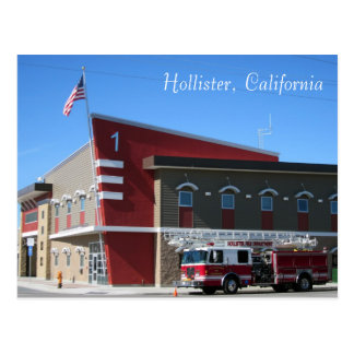 The Hollister Fire Department Postcard