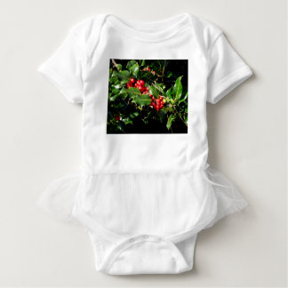 The Holly And The Ivy Baby Bodysuit