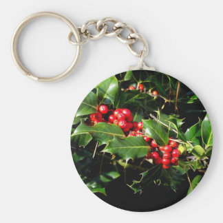The Holly And The Ivy Keychain