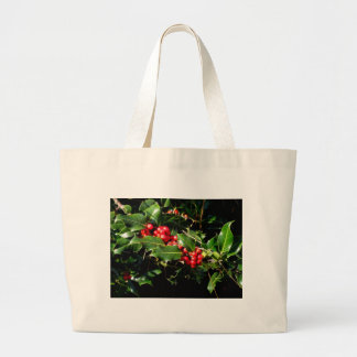 The Holly And The Ivy Large Tote Bag