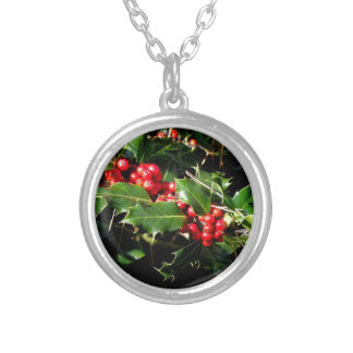 The Holly And The Ivy Silver Plated Necklace