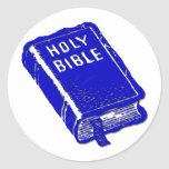 The Holy Bible Round Sticker