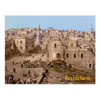 The Holy City Of Bethlehem Postcard