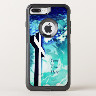 The Holy Cross - Blue Skies OtterBox Commuter iPhone 8 Plus/7 Plus Case